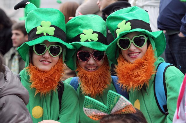 St Patrick's Day is celebrated across the world each year (Getty Images)