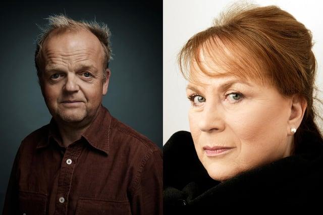 Tony Jones and Pam Ferris star in Angela, by Mark Ravenhill