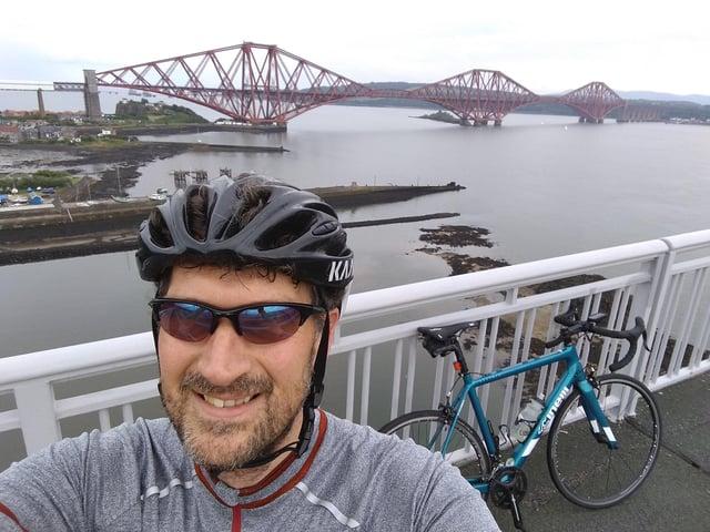Participant Malcolm Burke, chief engineer at Leonardo in Edinburgh.