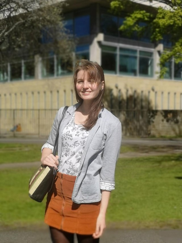 Emily Hughes studies French and English literature.
