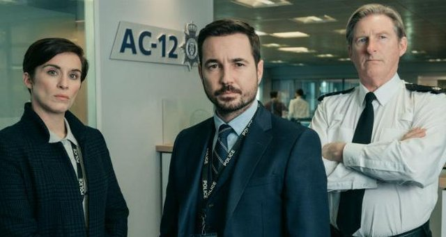 The AC12 team in Line of Duty picture: BBC