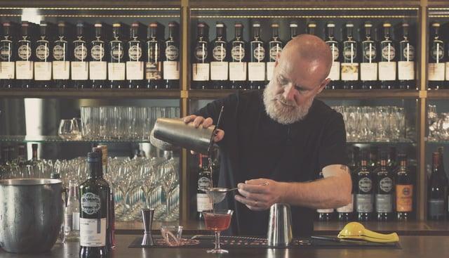 Jason Scott is the mixologist behind the unique flavoured cocktails