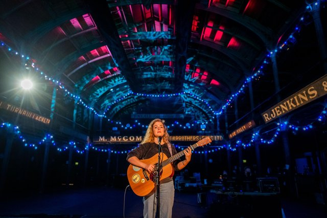 Singer-songwriter Katherine Priddy was among the performers at this year's Celtic Connections festival, which was staged entirely online. Picture: Gaelle Beri