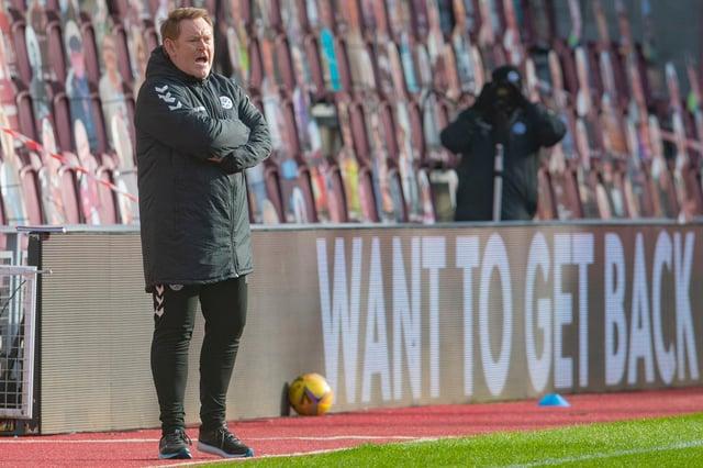 Ayr United boss David Hopkin. Picture: SNS
