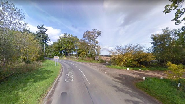 The B6369 between Gifford and Haddington where the crash happened picture: Google maps