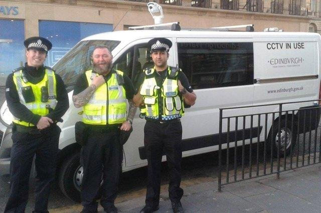 The CCTV camera van will be at the Meadows on Fridays and Saturdays