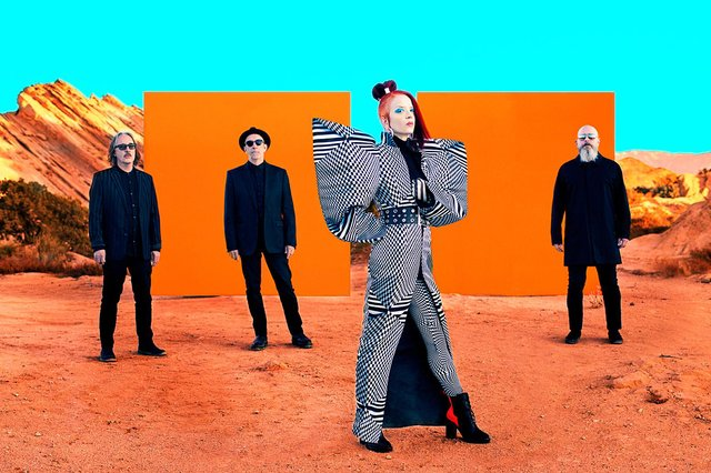 Shirley Manson with Garbage in 2020