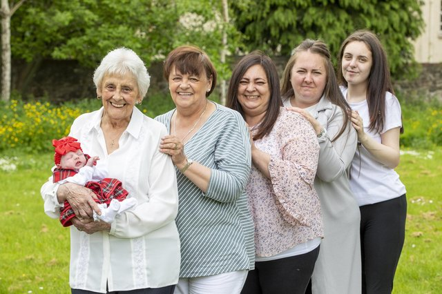 Six in a row for Mary and her unique family