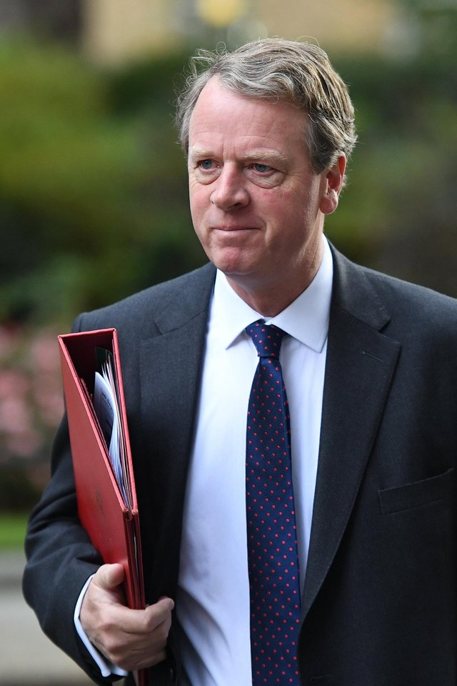 Secretary of State for Scotland, Alister Jack arrives in Downing Street