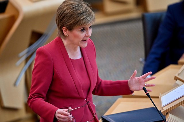 Nicola Sturgeon is due to appear in parliament for First Minister's Questions on Thursday.