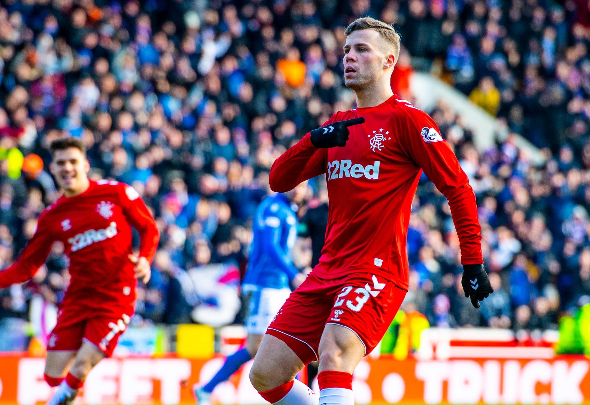 Rangers don't have option to buy Hibs striker Florian Kamberi, Greg Docherty deal update - reports