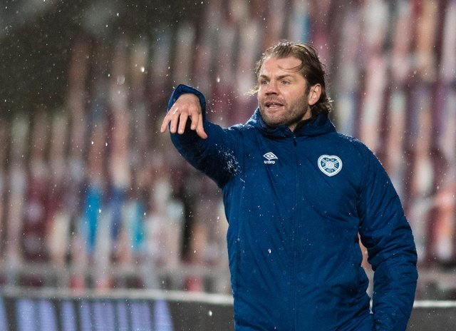 Robbie Neilson made a surprise tactical switch against Alloa. Picture: SNS