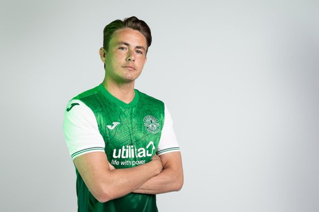 Scott Allan was on target for Hibs in their 1-1 draw with Stoke City