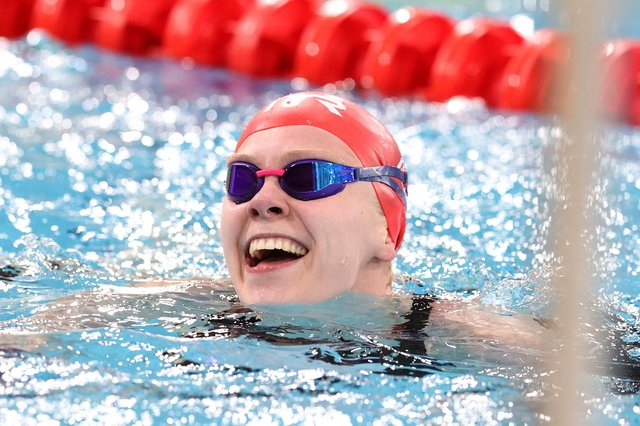 Lucy Hope is looking forward to her first Olympics after receiving a late Team GB call-up for the Tokyo Games