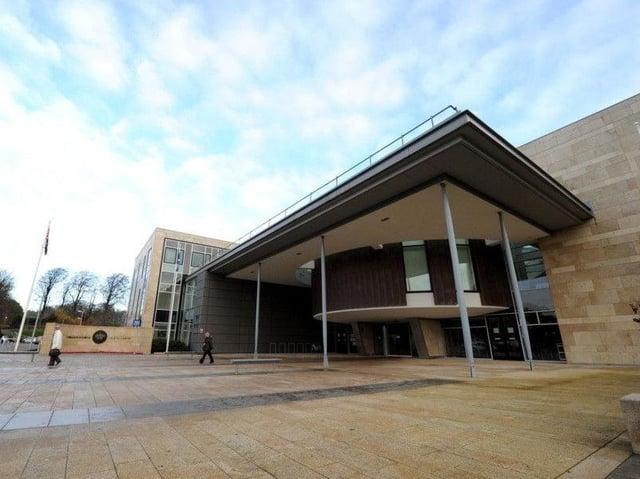 Livingston Sheriff Court.