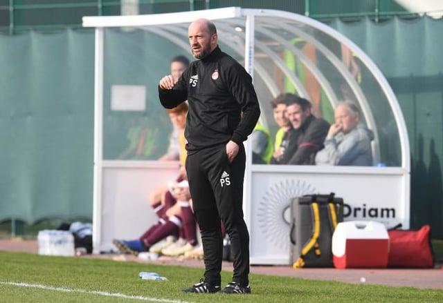 Aberdeen coach Paul Sheerin