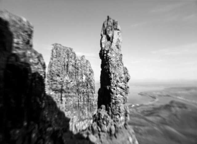 The Broken Land (An Tir Briste) brings together a series of images made on the Isle of Skye and the St Kilda archipelago in 2012.