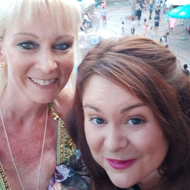 Best friends Karen and Lisa