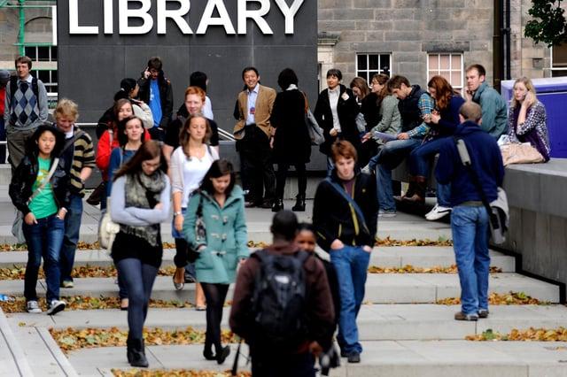Universities in Edinburgh are cancelling summer graduation ceremonies in response to the coronavirus outbreak. Picture: Jane Barlow.