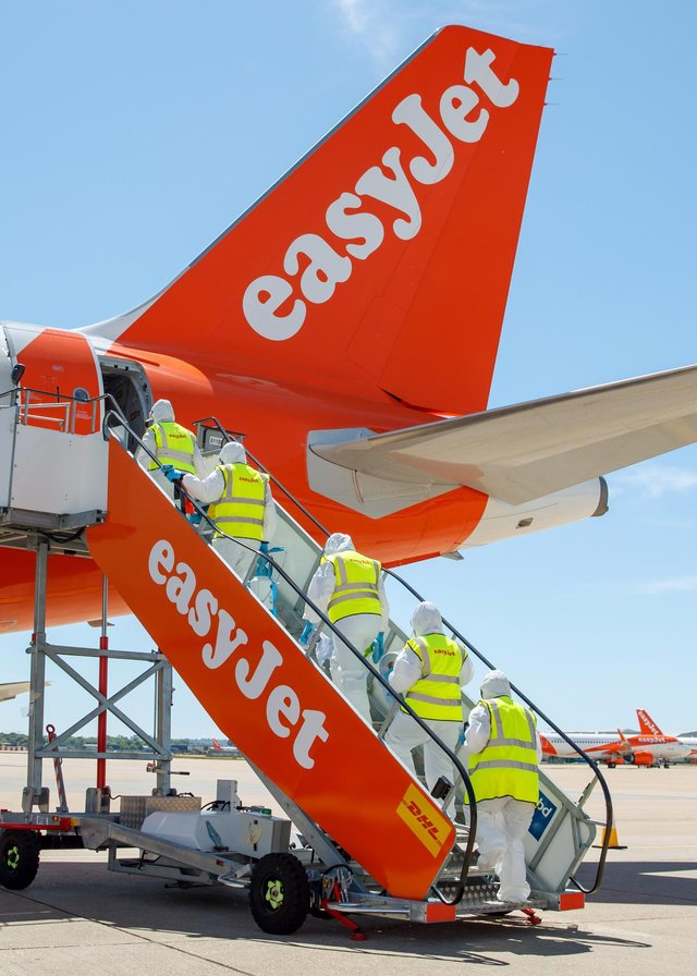 Easyjet is flying to Portugal from Edinburgh and Glasgow. Picture: Ben Queenborough
