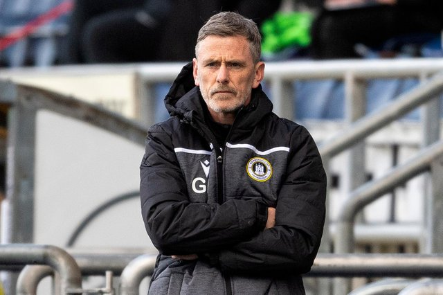 Gary Naysmith is hoping to lead Edinburgh City to promotion (Photo by Ross MacDonald / SNS Group)