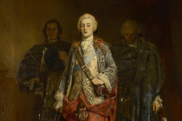 Bonnie Prince Charlie Entering the Ballroom at Holyroodhouse, by John Pettie. The leader of the Jacobite army caused a stir when he arrived in the capital in September 1745 with the city the nerve centre of the rising for six weeks. PIC: Royal Collections Trust.