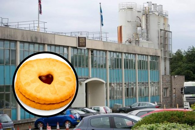 Workers at Burton's Biscuits Co in Sighthill are set to walk out in protest