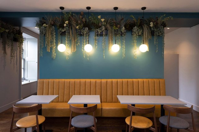 The cafe has undergone an extensive makeover