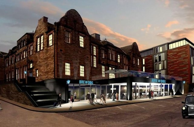 Brewdog's proposed hotel with beer in tap in all rooms (Pic: Brewdog Twitter)