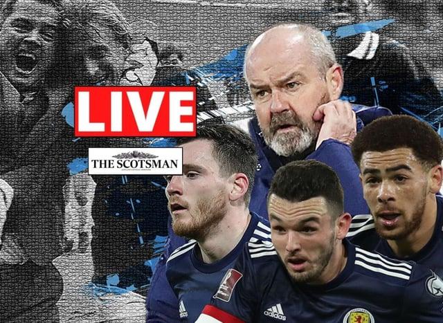Steve Clarke, Andy Robertson, Che Adams and John McGinn prepare to renew the oldest international rivalry in history.