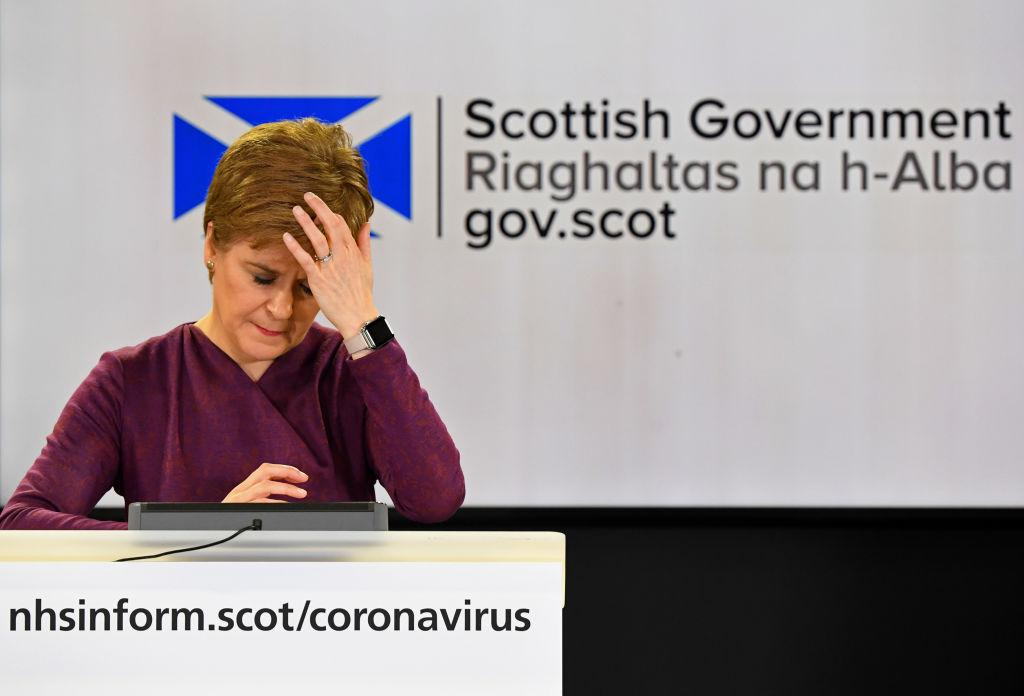 'They made me want to cry': Nicola Sturgeon blasts revellers pictured breaking social distancing amid Covid-19 outbreak