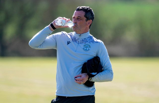 Hibs manager Jack Ross has been enjoying the rewards of his squad's endeavours this season but believes there is better still to come. Photo by Mark Scates / SNS Group