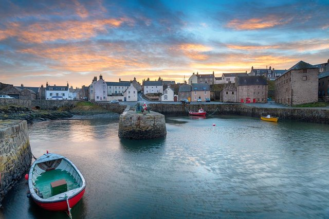 The stunning village of Portsoy is the latest filming location for Peaky Blinders (Picture: Shutterstock)