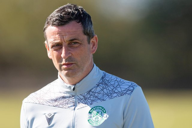Hibs manager Jack Ross is looking forward to what he hopes will be an exciting and rewarding end to the season. Photo by Mark Scates / SNS Group
