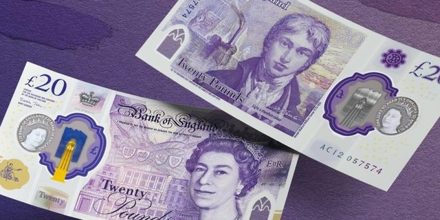 This is what the new £20 note will look like (Photo: Bank of England)