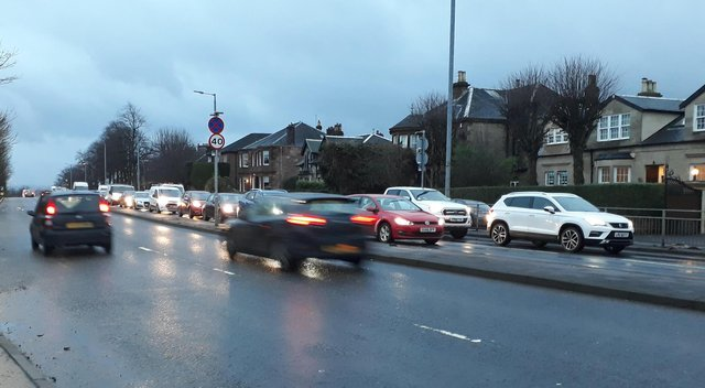 The Scottish Government has committed to cutting traffic by one fifth within nine years. Picture: The Scotsman