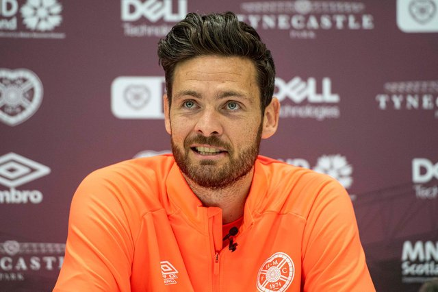 Hearts goalkeeper Craig Gordon has been appointed new club captain. (Photo by Ross MacDonald / SNS Group)