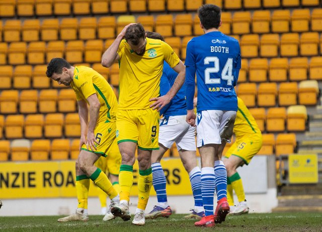 Hibs played nice football against St Johnstone but didn't pose enough of a goal threat