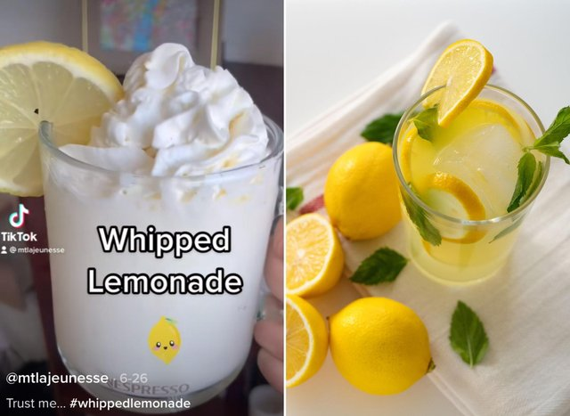 What is Whipped Lemonade? Here's how to make TikTok's new favourite summer drink (Image Credit: TikTok/Getty Images)