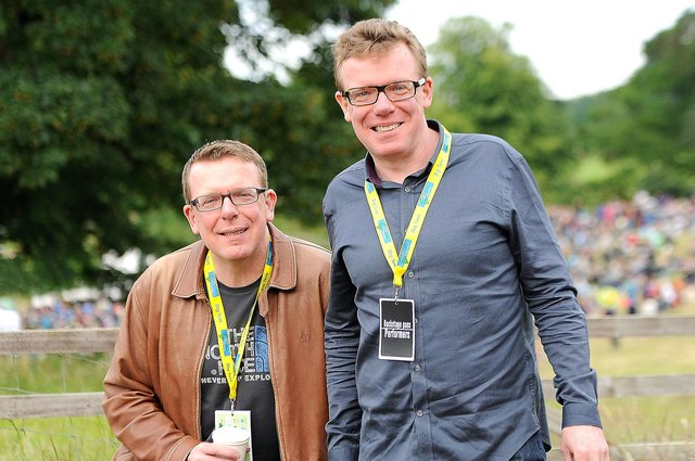 Craig and Charlie Reid, aka The Proclaimers, have publicly backed the Alba Party (Picture: Neil Doig)