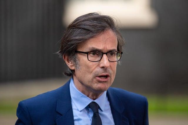 ITV News Political Editor Robert Peston in Downing Street, London.