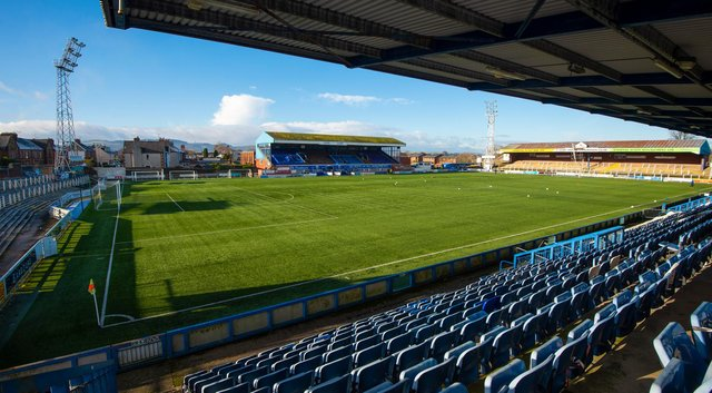 A general view of Palmerston Park, home of Queen of the South (Photo by Euan Cherry / SNS Group)