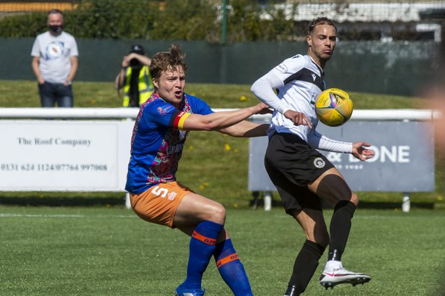 Ouzy See was on target for Edinburgh City.