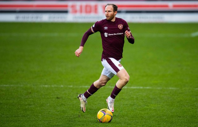 Aidy White still hopes to earn a new contract at Hearts.