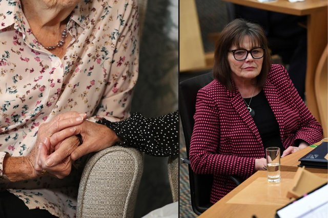 Scotland's health secretary Jeane Freeman admits moving some patients from hospitals to care homes during the pandemic 'was a mistake' pictures: PA