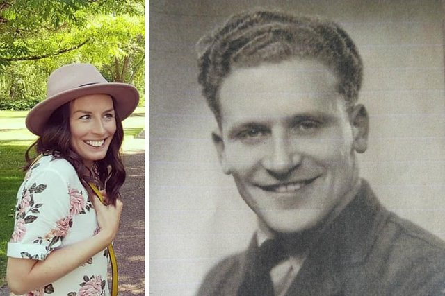 Clare J Cavanagh recalls her grandfather John Hughes' incredible tale of survival during the final days of the Second World War.