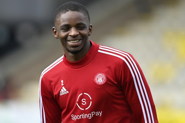 Hibs are reportedly interested in signing Hamilton Accies midfielder Hakeem Odoffin. Picture: SNS