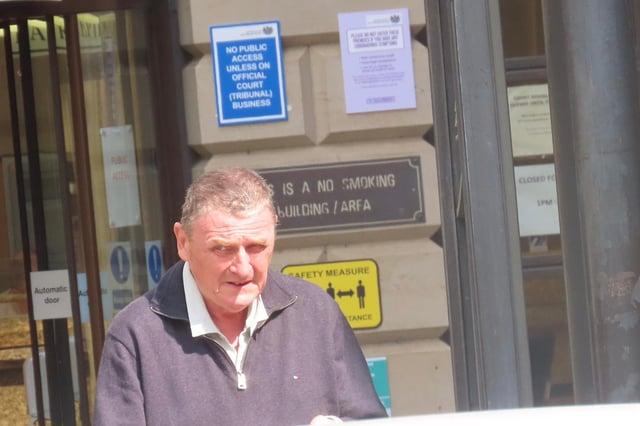 Covid positive: Gordon Leadbetter picked up vulnerable fares despite having Covid-19