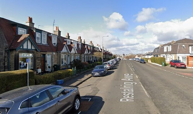 Lynda Flex, a 67-year-old NHS social worker, had herluxury outdoorswing stolen from her garden in Restalrig Avenue, Edinburghwhen she was away at work on Monday (Photo: Google Maps).