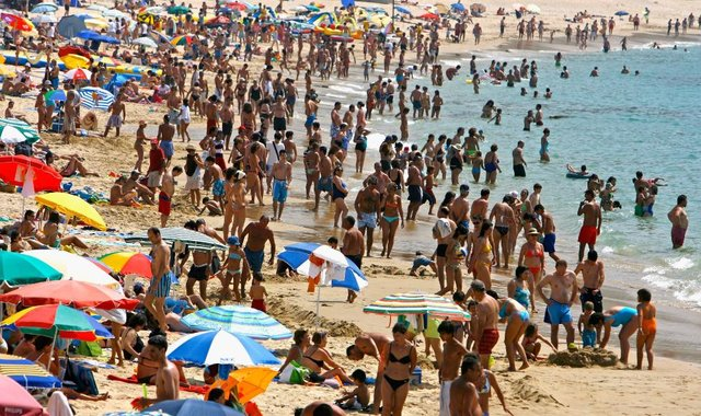 Many people are hopeful that they will be able to travel abroad for some sun in the hotter months (Getty Images)